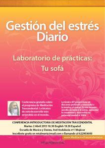Curso de Meditación Trascendental en Mojácar, Escuela de Musica y Danza, Avd Andalucia nº1 Mojacar 04638 (Almería)