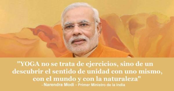 Yoga Primer ministro india